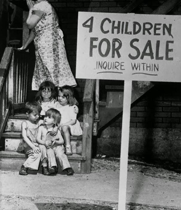 """""""Deca na prodaju!"""" - Čikago 1948."""