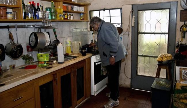Predsednik Urugvaja u svojoj kuhinji