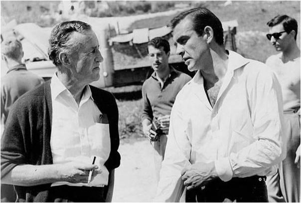 Jan Fleming i Šon Koneri