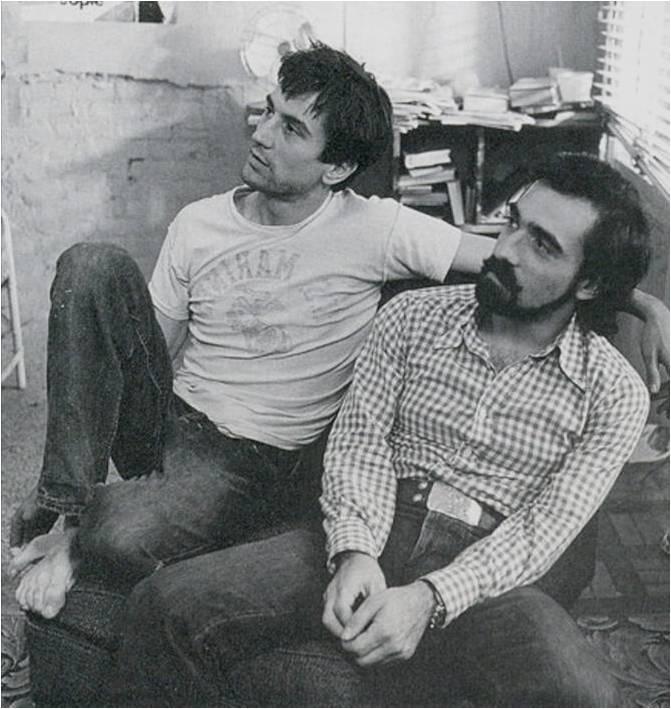 Robert De niro i Martin Skorseze