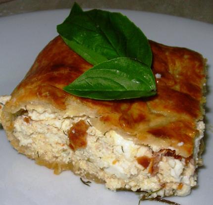 Pita od sira i bosiljka