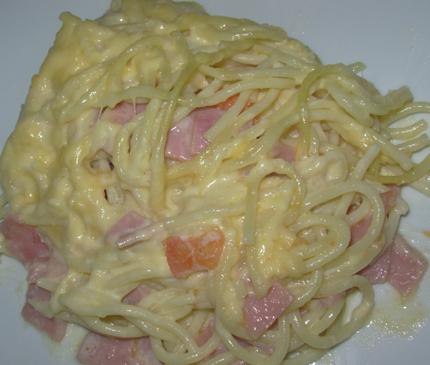 Špageti s pavlakom