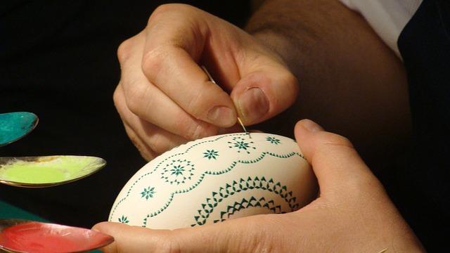Crtana uskršnja jaja