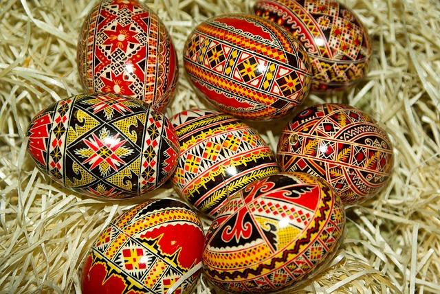 Farbanje jaja u džaku