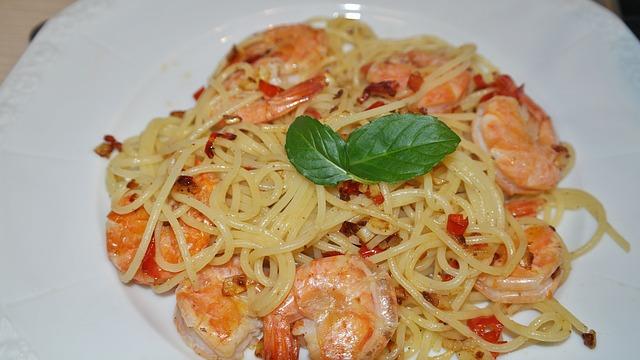 Morski file sa špagetima