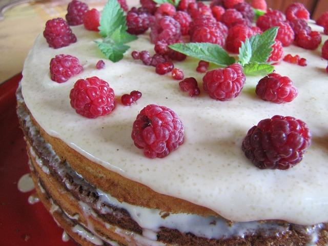 Torta s malinama