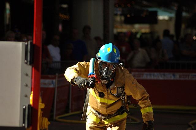 Požar u Knez Mihailovoj ulici u Beogradu