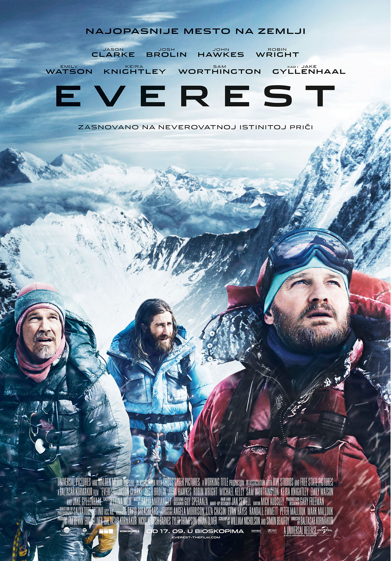 Everest za web