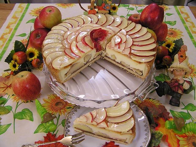 Torta s jabukama u sirupu