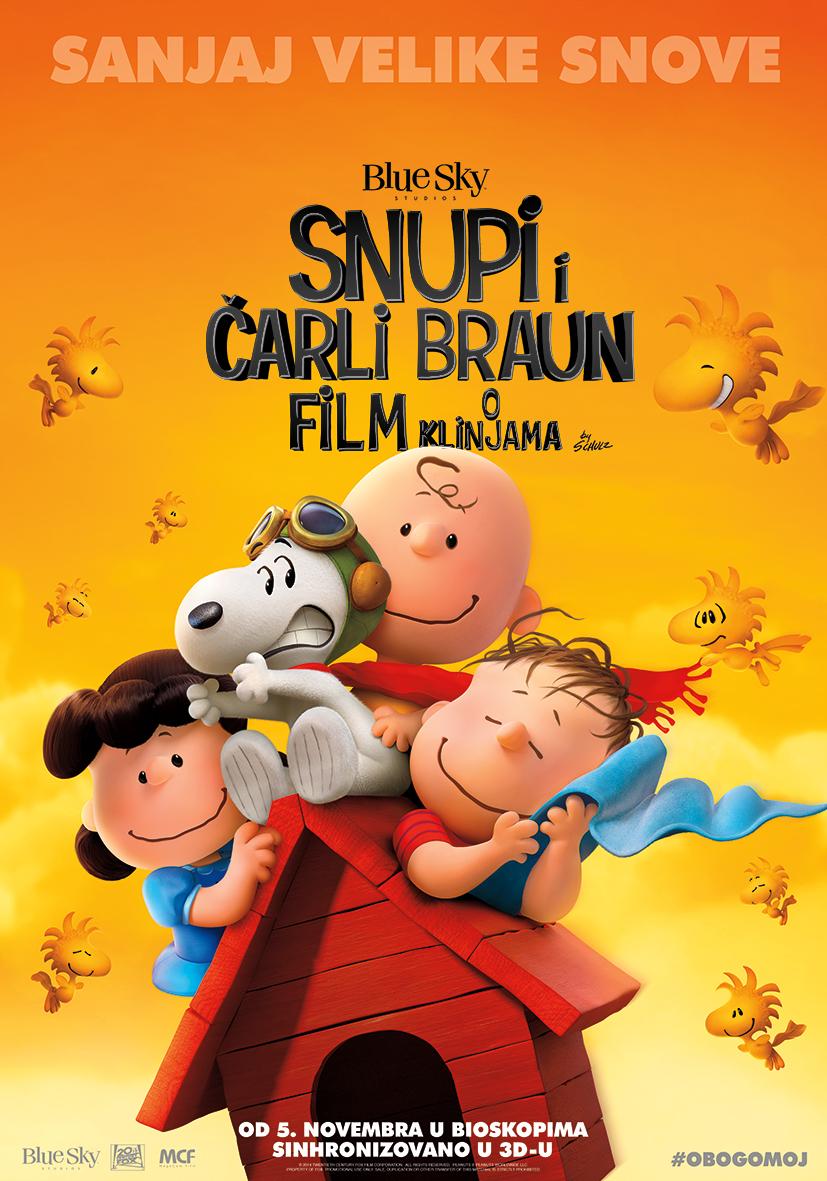 Snupi i Čarli Braun – film o klinjama