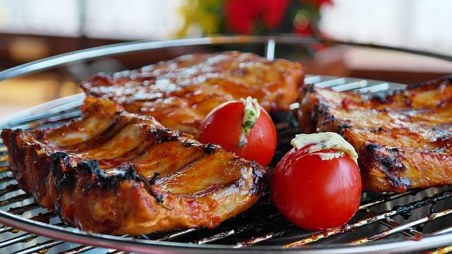 Svinjska rebarca na roštilju
