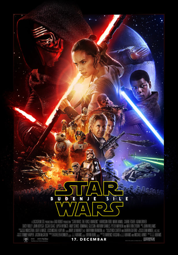 Star Wars plakat