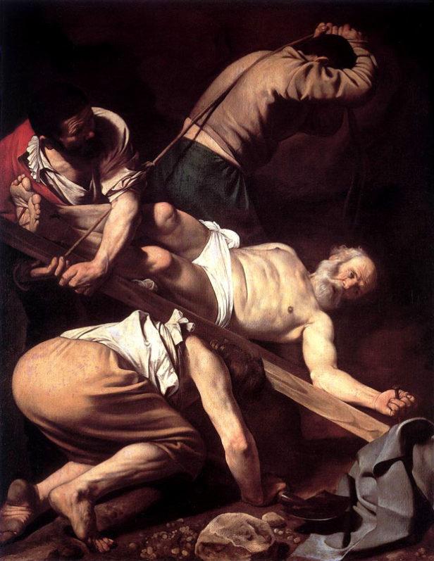 Foto: Wikipedia/Karavađo: Raspeće Svetog Petra