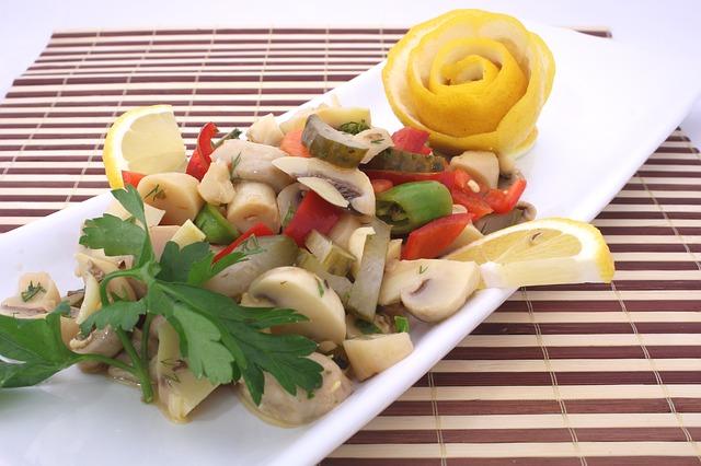 Salata od pečuraka