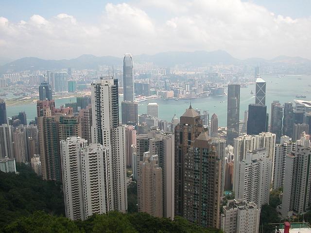 Hongkong gasi šarena neonska svetla