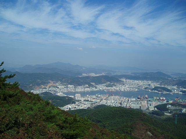 Korejska verzija Mojsijevog čuda na ostrvu Đindo