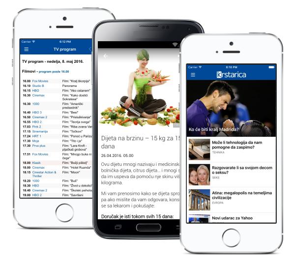 Mobilna aplikacija za vašu firmu