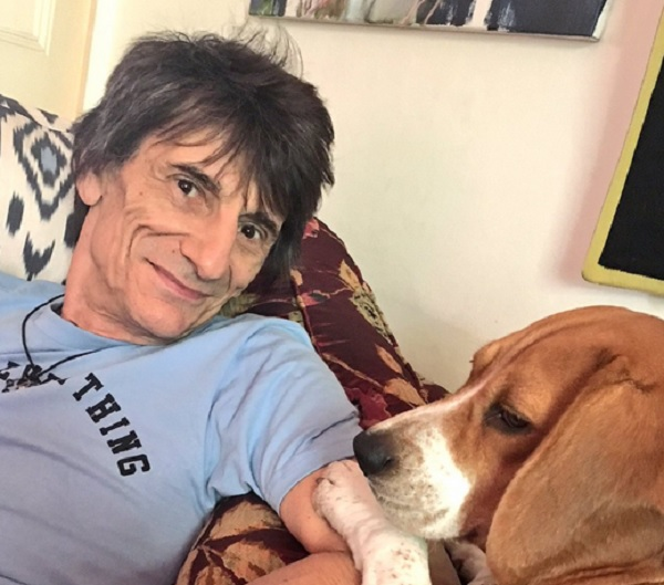 Foto: Twitter/RonnieWood