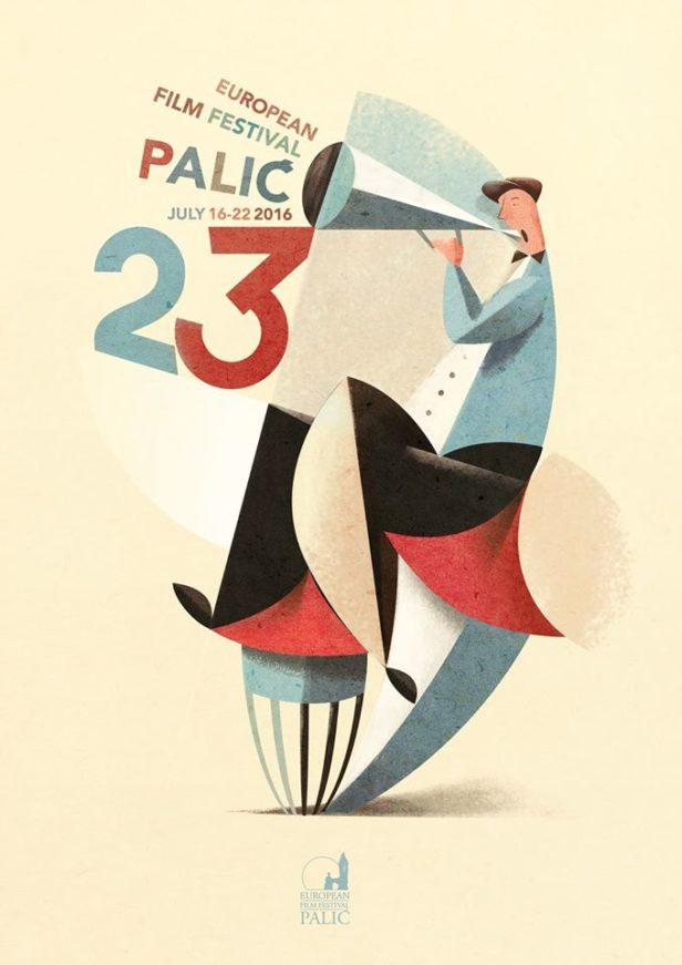 Plakat 23. FEF Palic