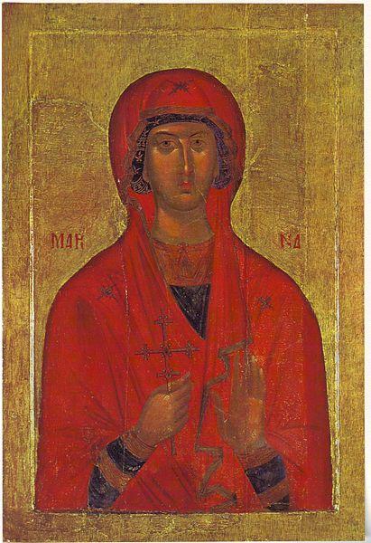 Foto: Wikipedia/ikona iz 15. veka, Vizantijski muzej u Atini