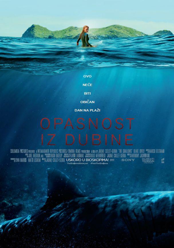 Opasnost iz dubine - plakat
