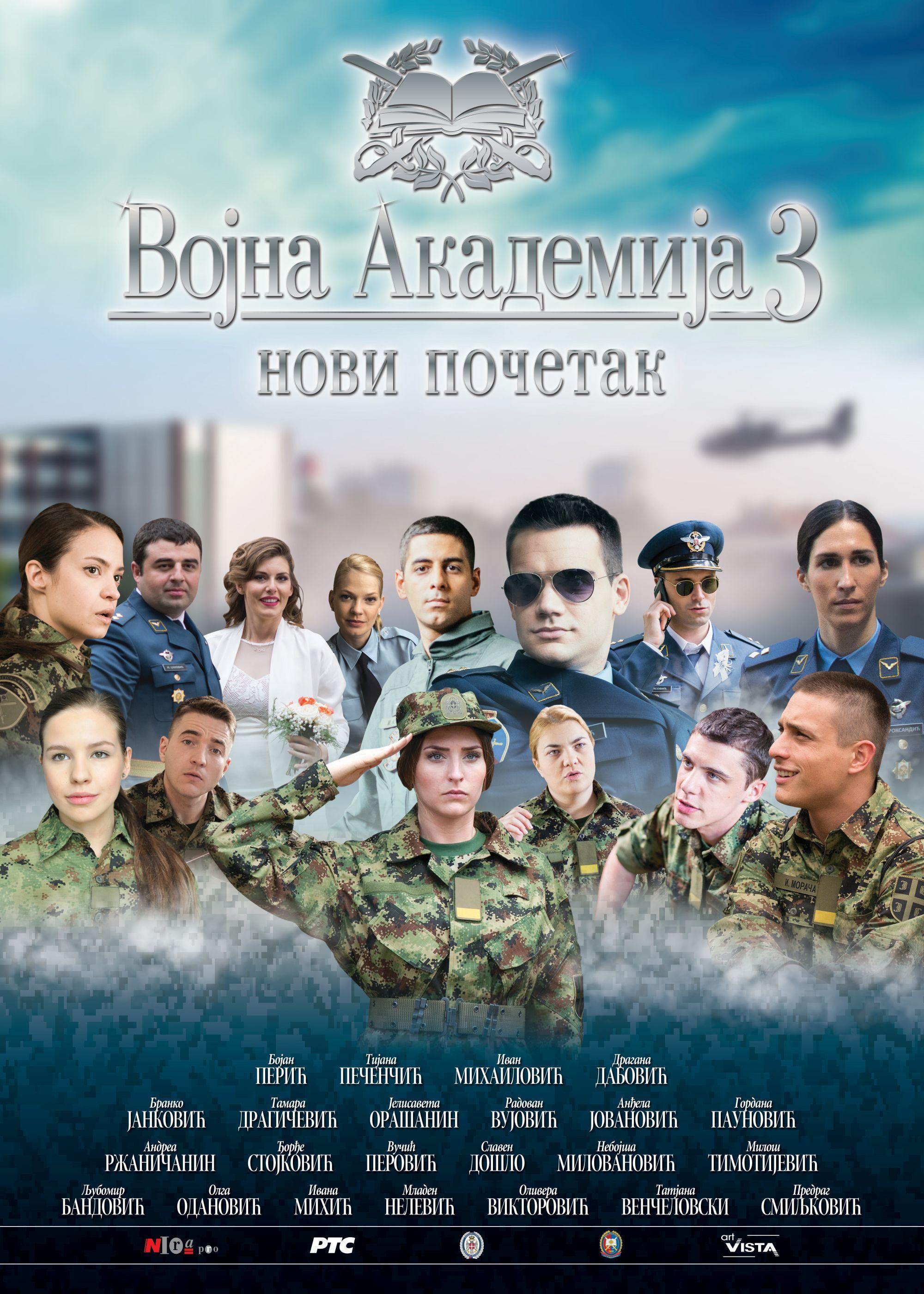 Vojna akademija 3 – novi početak (video)