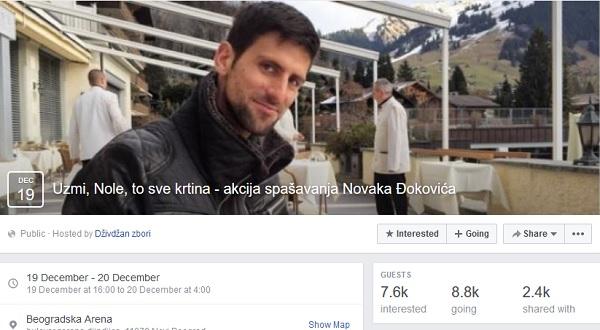 Foto: facebook/akcijaspašavanjanovakađokovića