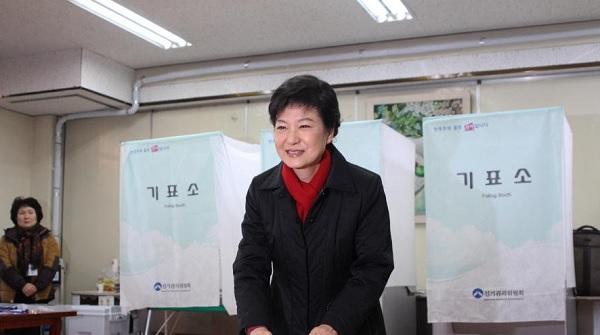 Foto: Twitter/(Park Geun Hye