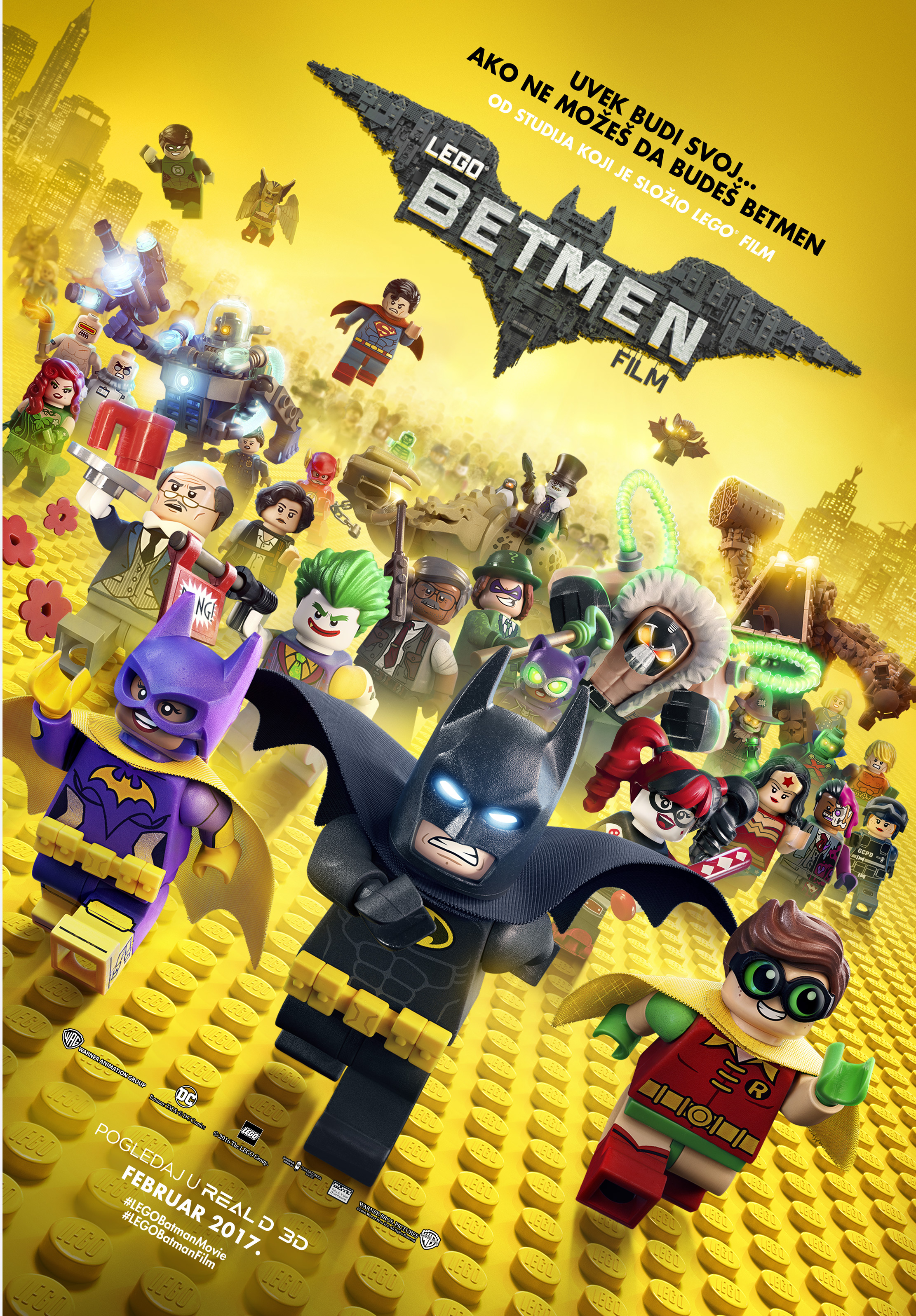 Lego Betmen film 3D (video)