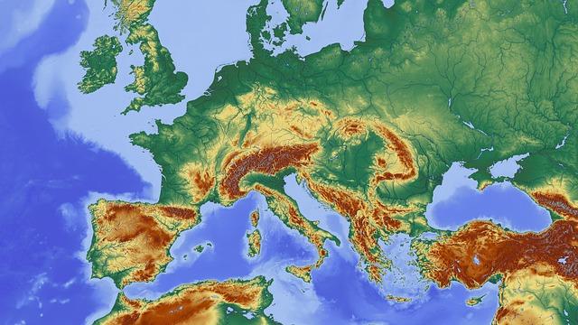 Šta bi bilo s obalama Evrope kad bi se otopio sav led?