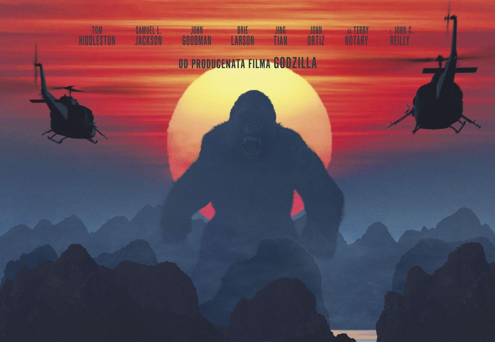 Kong: Ostrvo lobanja 2D i 3D (video)