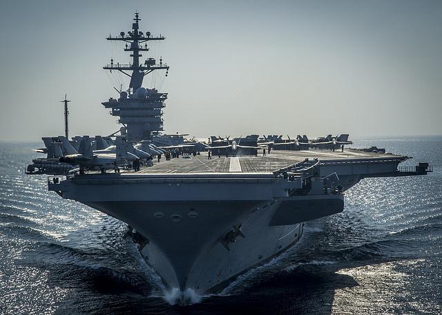 Tri američka supernosača aviona plove ka Korejskom poluostrvu