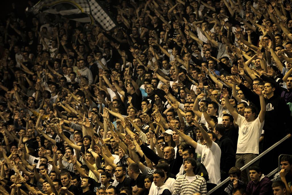 UEFA potvrdila kaznu, Partizan dva meča bez publike