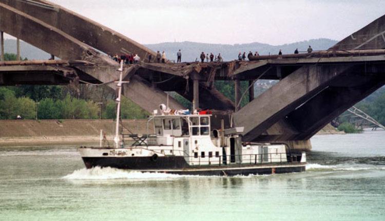 Luk Žeželjevog mosta ostao na suvom