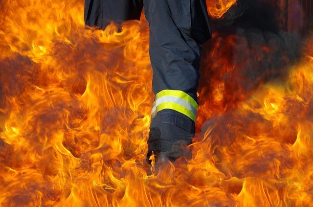 Požar u Malom Mokrom Lugu