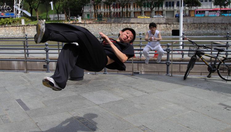 Parkur je idealan sport za aktivne ljude