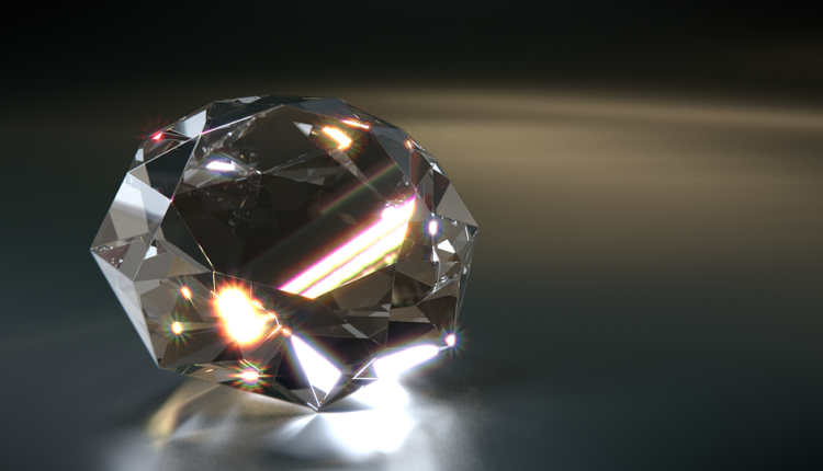 Iskopan dijamant od 1,6 kilograma
