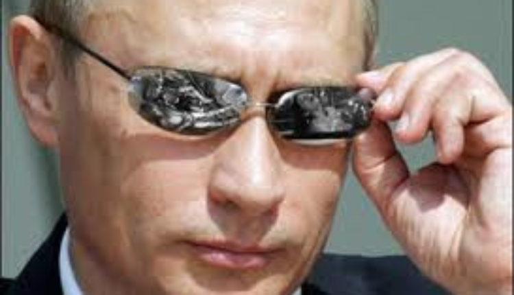 Za Putinovu vizitkartu traži se milion rubalja