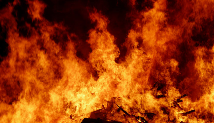 Požar na Samosu