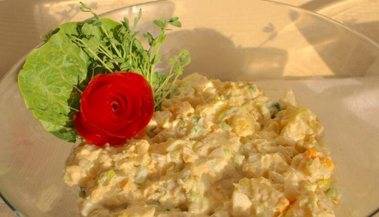 IDEALNA za novogodišnju trpezu – Mimoza salata