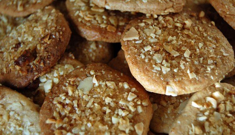 Zdravi kolačići od banana, badema i cimeta