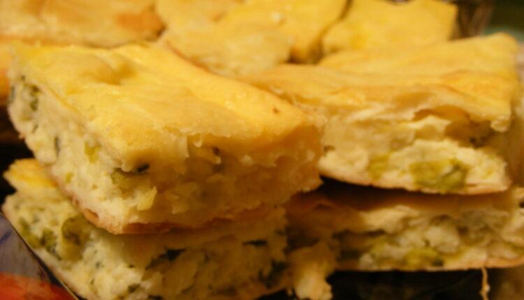 Ovakvu niste probali: Pita sa sirom bez kora